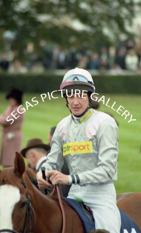 The Jockey Richard Hughes @ Newmarket on the 16th October 2004